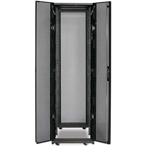 APC NetShelter SX 42U 600mm Wide x 1070mm Deep Enclosure Without Sides, Black AR3100X609