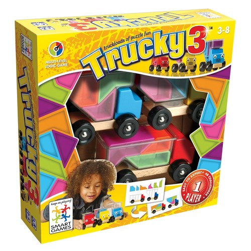 SmartGames Trucky 3 Logic Game