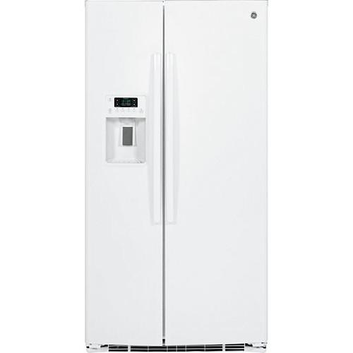 GE GSE25HGHWW ENERGY STAR 25.4 cu. ft. Side-By-Side Refrigerator
