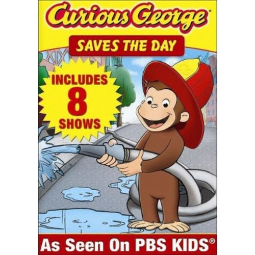 Curious George: Saves the Day (dvd_video)