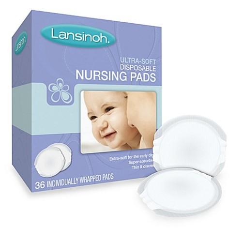 Lansinoh Ultra Soft 36-Pack Nursing Pads