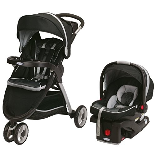 Graco FastAction Gotham Fold Sport Stroller Click Connect Travel System