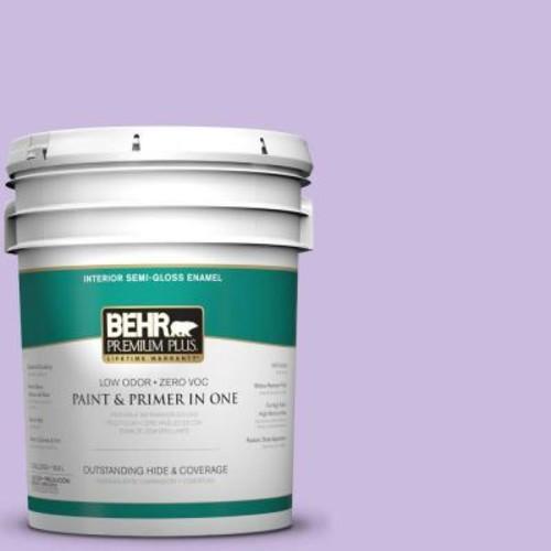 BEHR Premium Plus 5-gal. #P570-2 Confetti Semi-Gloss Enamel Interior Paint