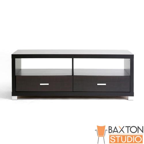 Baxton Studio Derwent Modern TV Stand with Drawers