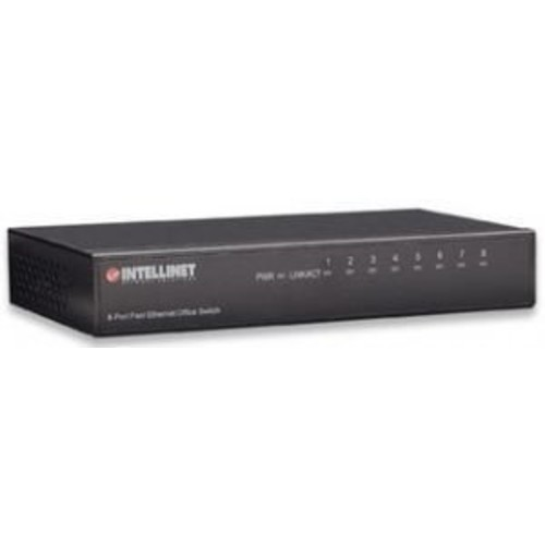 Intellinet - 523318 - 8 port ethernet desktop switch