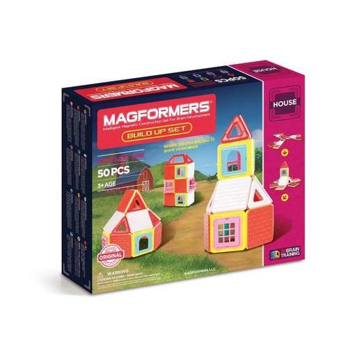 Magformers Build Up Construction Set 50 Pieces