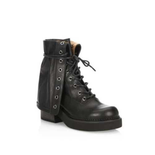 SEE BY CHLOÉ Katerina Fold-Over Leather Boots