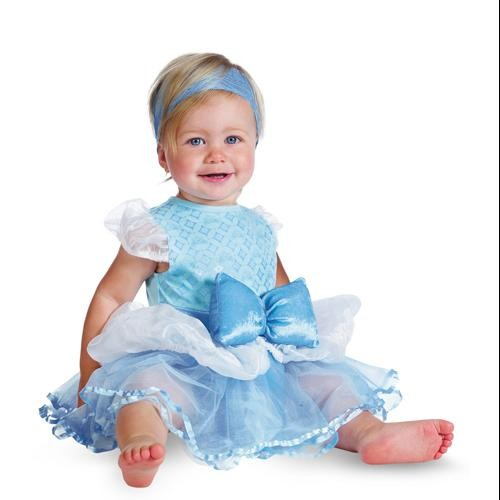 Cinderella Infant Girls Disney Princess Baby Costume sz 12-18 Months