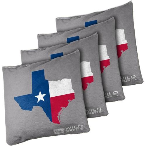 Wild Sports Texas State Flag Cornhole Bean Bags