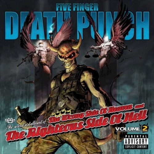 Five Finger Death Punch - The Wrong Side of Heaven and the Righteous Side of Hell, Vol. 2 (Vinyl)