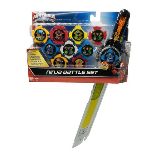 Power Ranger Ninja Deluxe Battle Gear and Ninja Stars Bundle Set