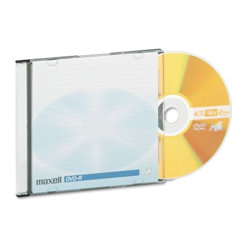 Maxell 638004 4.7gb 120-minute Dvd-rs (10 Pk)