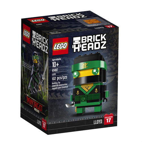 LEGO BrickHeadz The Ninjago Movie Lloyd (41487)