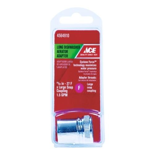 ACE Portable Dishwasher Adapter 55/64in. - 27F Chrome(9DA0010515)