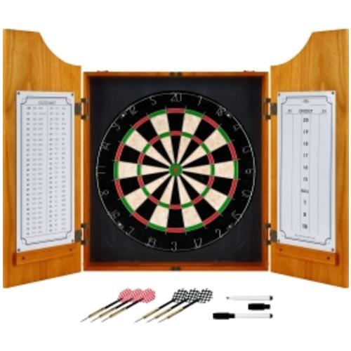 Trademark Games Pro Style Wood Dart Cabinet Set