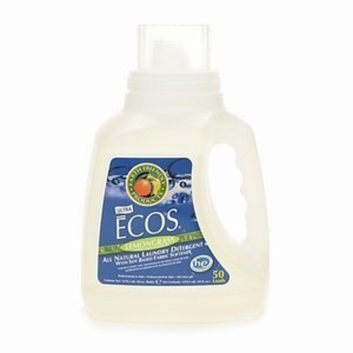 Earth Friendly ECOS Free & Clear Liquid Laundry Detergent 50 oz Handle