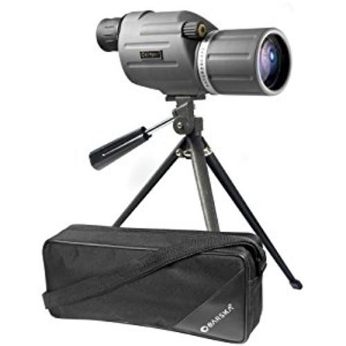 BARSKA Naturescape 15-45x50 Waterproof Spotting Scope w/ Tripod & Soft Carry Case [Mid-Size Spotting Scopes]