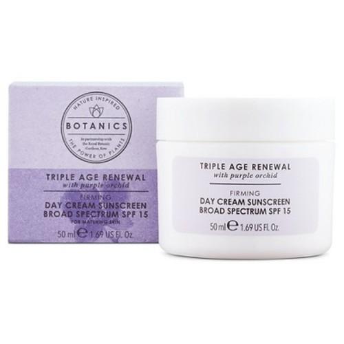 Botanics Triple Age Renewal Day Cream SPF 15 - 1.69oz