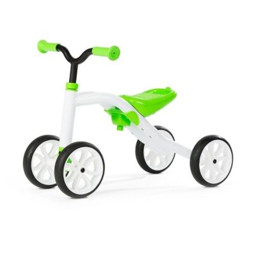 Chillafish Kid's Quadie Grow-With-Me Ride On - Lime