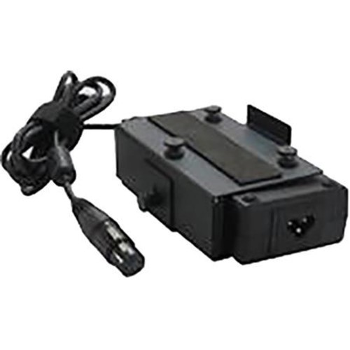 Intellytech 100W AC/DC Adapter with 4-Pin XLR Power Supply and AB Gold Mount