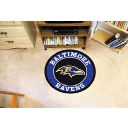 FANMATS NFL Baltimore Ravens Roundel Mat
