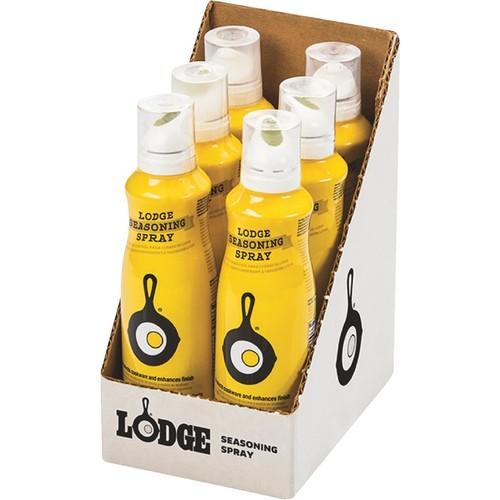 Lodge 8 Oz. Cast Iron Seasoning Cooking Spray - A-SPRAY