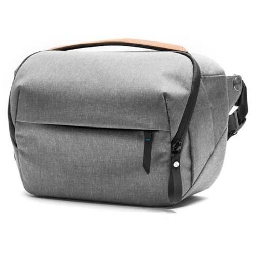 Peak Design 5L Everyday Sling Bag for DSLR/Mirrorless Body and 1-2 Lenses, Ash