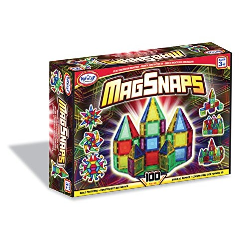 Popular Playthings MagSnaps Set (100 pieces)