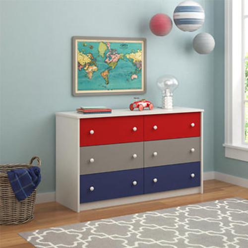 Cosco Kaleidoscope 6-Drawer Dresser - Classic