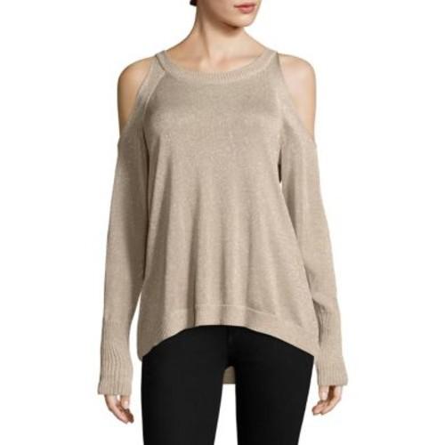 Tasha Cold Shoulder Sweater