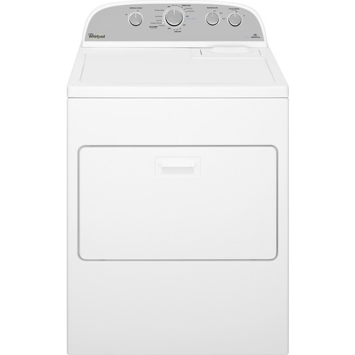 Whirlpool - 7.0 Cu. Ft. 13-Cycle Steam Gas Dryer - White