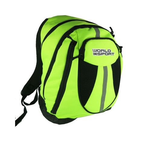 World Sport Backpack - Lime Green/Black