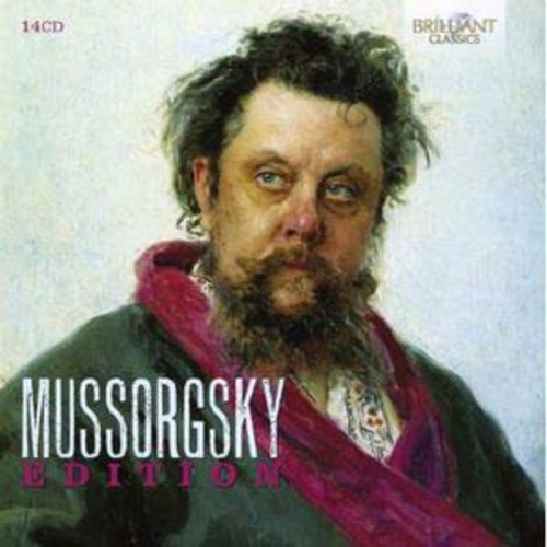 Mussorgsky Edition (Audio CD)