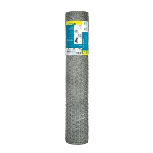 Garden Zone 150Ft Poultry Netting with 1in Hex Mesh