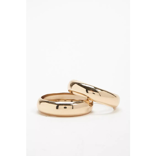 Wide Bangle Bracelet Set