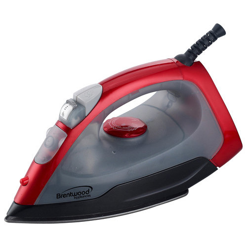 Brentwood - Steam Iron - Red