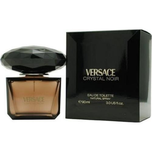 Versace Crystal Noir by Versace, 3 oz Eau De Toilette Spray for women