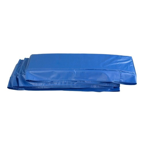 Upper Bounce Super Trampoline Replacement Safety Pad (Spring Cover) Fits for 8 ft. x 14 ft. Rectangular Frames in Blue