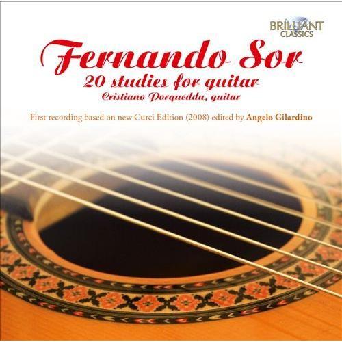 Fernando Sor: 20 Studies for Guitar [CD]