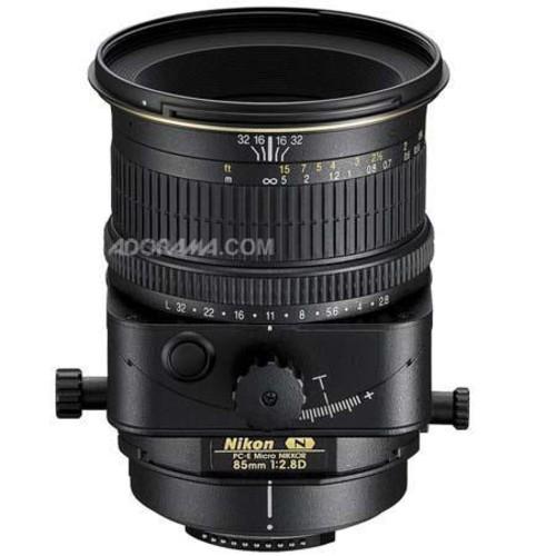 Nikon PC-E Micro NIKKOR 85mm f/2.8D Manual Focus Lens - Nikon U.S.A. Warranty 2175