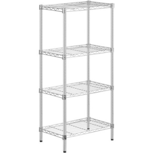 Honey Can Do 4-Shelf Steel Storage Shelving Unit