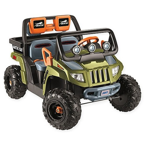 Fisher-Price Power Wheels Arctic Cat 1000 Ride-On in Green