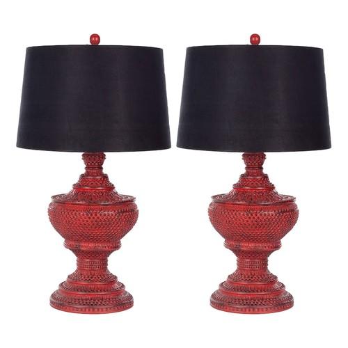 Safavieh 2-piece Chinese Table Lamp Set