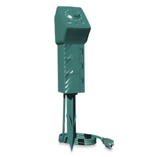 Stanley 3-Outlet PlugBank Ground Stake