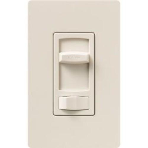 Lutron Skylark Contour 150-Watt Single-Pole/3-Way CFL-LED Dimmer - Light Almond