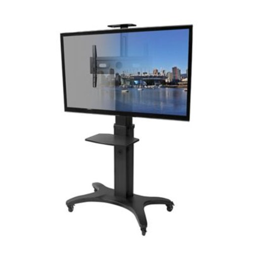 Kanto MTMA70PL Mobile TV Mount with Adjustable Shelf for 40-inch to 70-inch TVs