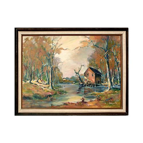 The Mill by Virginia Newport Ingram