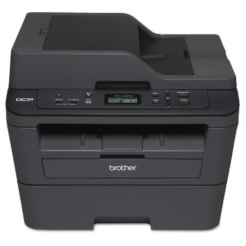 Brother DCP-L2540DW Wireless Monochrome Laser Multi-Function Copier With Duplex Printing - Black (DCPL2540DW)