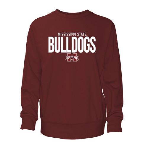 NCAA Mens French Terry T-Shirt - Mississippi State Bulldogs