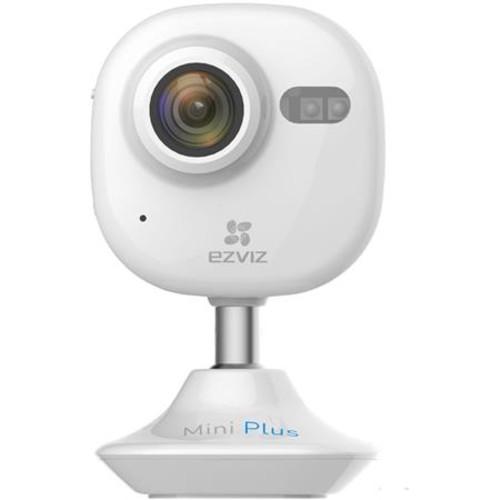 EZVIZ Mini Plus Indoor 1080p Wi-Fi Cloud Camera, White With 32GB Micro SDHC Card